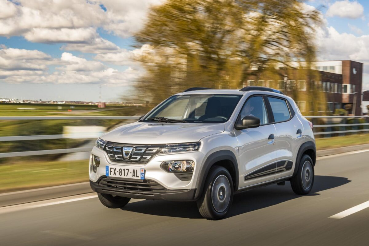 Elektroautos im Vergleich Dacia Spring Electric gogreen